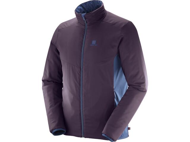 Salomon M's Drifter Mid Jacket Dress Blue/Maverick